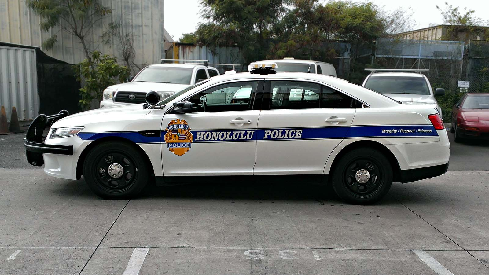 Honolulu Police Department Ford Police Interceptor 2016